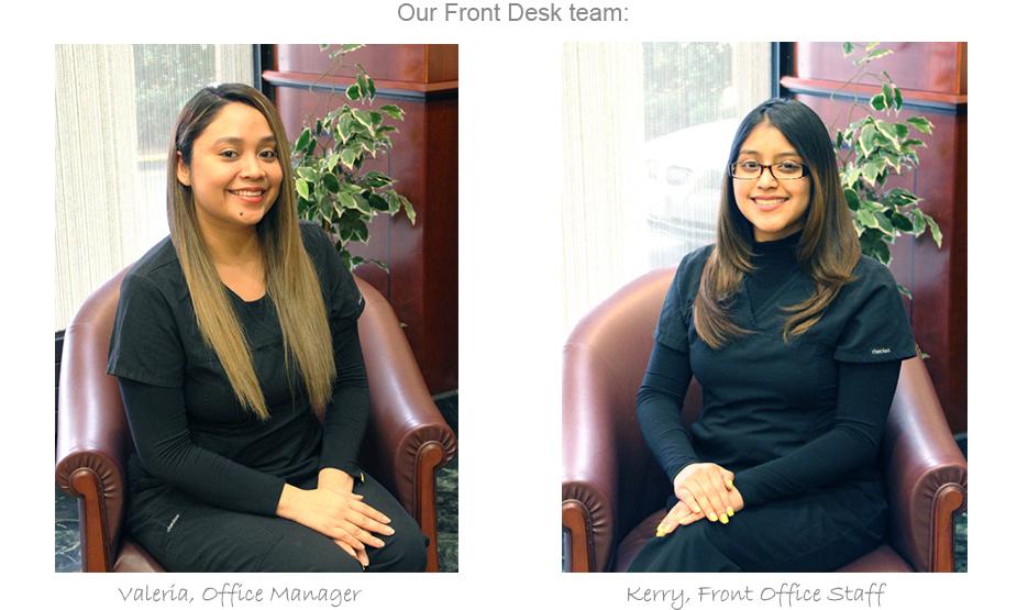 Our Front Desk Team